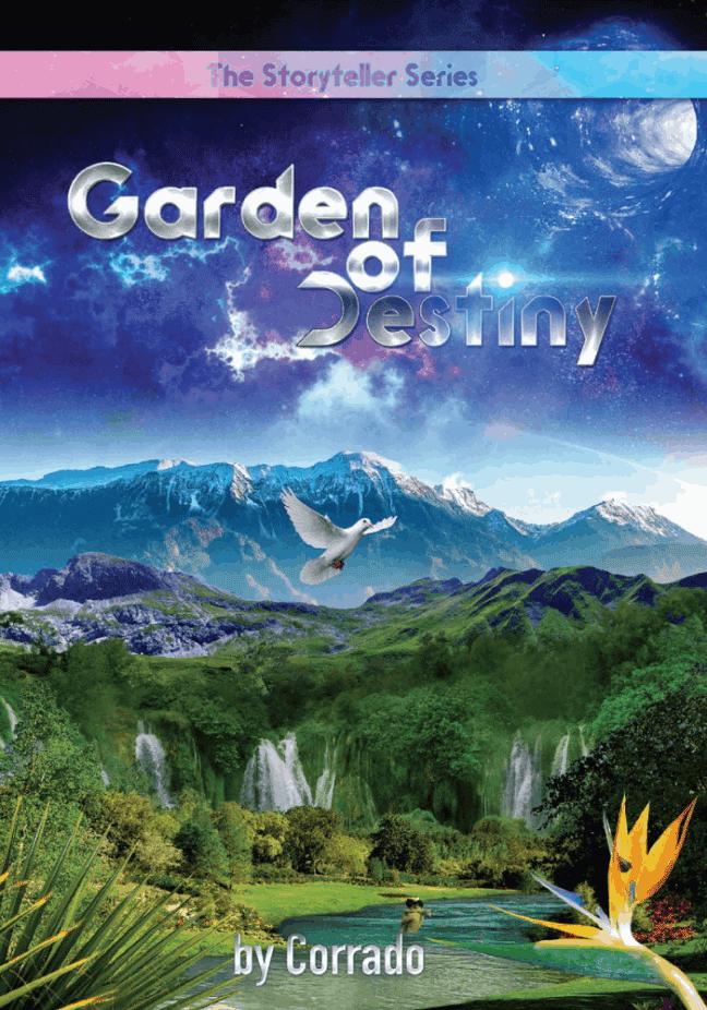 Garden of Destiny Science Fiction Book Cover