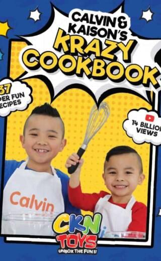 Calvin and Kaison's Krazy Cookbook